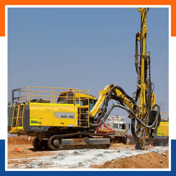 Blast-Hole-Drilling